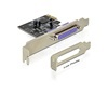 DELOCK Parallel card (PCI-E x1, 1xDB25, Low Profile)