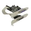 DELOCK PCI-E x1 - 2 portos párhuzamos port IO vezérlő