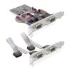 DELOCK PCI-E x1 - 4 soros port IO vezérlő