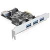 DELOCK PCI Express kártya > 3 x külső + 1 x belső USB 3.0