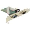 DELOCK PCI Expressz-kártya > 2 x Soros RS-232
