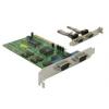 DELOCK PCI kártya - 4 db soros