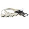 DELOCK PCI Kártya > 4 x Soros port áramellátás kezeléssel