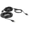 DELOCK USB 2.0 kábel A-B 20 m (fekete)