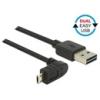 DELOCK USB 2.0 kábel A - Micro-B 90° 0,5 m