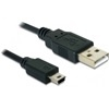 DELOCK USB 2.0 mini kábel (Type-A dugó / 5-pin Mini dugó) 0,7 m