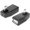 DELOCK USB 2.0 OTG adapter A - Micro-B 90°