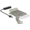 DELOCK USB-A 3.0 - SATA 6 Gb/s 22 pin konverter 2.5-os védőburkolattal