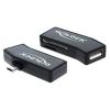 DELOCK USB OTG SD + Micro SD kártyaolvasó fekete