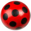 Dema Stil Piros gumilabda fekete pöttyökkel - 22 cm