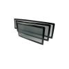 DEMCIFLEX Porszűrő 280mm radiátorhoz fekete/fekete
