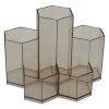 DesignPla rószertartó -DP1009- hatszögletű műanyag FÜST