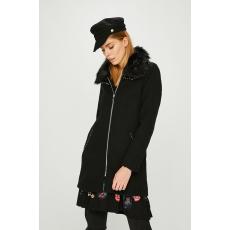 Desigual - Kabát - fekete - 1450691-fekete