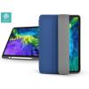 Devia Apple iPad Pro 11 (2020) védőtok (Smart Case) Apple Pencil tartóval - Devia Leather Case - blue