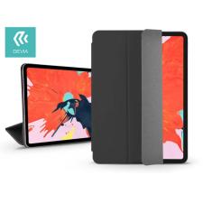 Devia Apple iPad Pro 12.9 (2018) védőtok (Smart Case) on/off funkcióval - Devia Star Magnet - black tablet tok