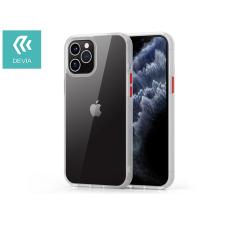 Devia Apple iPhone 12 Pro Max ütésálló hátlap - Devia Shark Series Shockproof Case - clear/transparent tok és táska