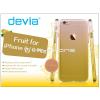 Devia Apple iPhone 6/6S hátlap - Devia Fruit - lemon
