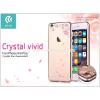 Devia Apple iPhone 6/6S hátlap Swarovski kristály díszitéssel - Devia Crystal Vivid - champagne gold
