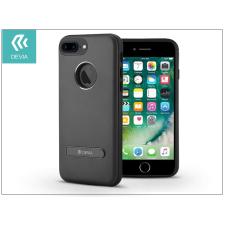 Devia Apple iPhone 7 Plus hátlap - Devia iView Magnetic - black tok és táska