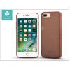 Devia Apple iPhone 7 Plus/iPhone 8 Plus szilikon hátlap - Devia Jelly Slim Leather 2 - brown