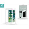 Devia Apple iPhone 7 Plus/iPhone 8 Plus üveg képernyő- + Crystal hátlapvédő fólia - Devia Full Screen Tempered Glass 0.26 mm - 1 + 1 db/csomag - white