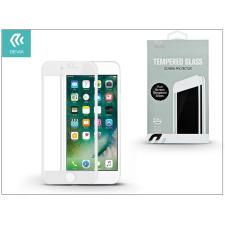 Devia Apple iPhone 7 Plus/iPhone 8 Plus üveg képernyő- + Crystal hátlapvédő fólia - Devia Full Screen Tempered Glass 0.26 mm - 1 + 1 db/csomag - white tok és táska