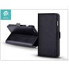 Devia Apple iPhone 7 Plus oldalra nyíló flipes tok hátlappal + kártyatartóval - Devia Magic Leather 2in1 - black
