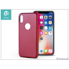 Devia Apple iPhone X hátlap - Devia Ceo - red