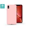 Devia Apple iPhone XR hátlap - Devia Nature - pink