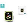 Devia Apple Watch 4 védőtok - Devia Dazzle Series 40 mm - ezüst/neon zöld