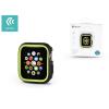 Devia Apple Watch 4 védőtok - Devia Dazzle Series 40 mm - fekete/neon zöld