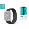 Devia Apple Watch fém szíj - Devia Elegant Series Milanese Loop - 42/44 mm - space black