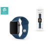 Devia Apple Watch lyukacsos sport szíj - Devia Deluxe Series Sport Band - 42/44 mm - blue