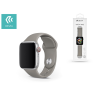 Devia Apple Watch lyukacsos sport szíj - Devia Deluxe Series Sport Band - 42/44 mm - gray