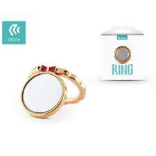 Devia Devia ring holder/szelfi gyűrű és kitámasztó - Devia Finger Hold Butterfly - champagne gold mobiltelefon kellék