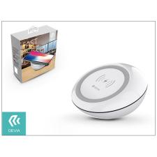 Devia Qi univerzális vezeték nélküli töltő állomás - 5V/2A - Devia Fast Wireless Charger - white - Qi szabványos tok és táska