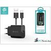 Devia ST301179 Smart 2A univerzális fekete hálózati töltő + Type-C kábel