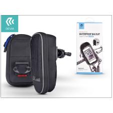 Devia Univerzális kerékpárra szerelhető, vízálló telefontartó táska max. 5,5&quot, méretű készülékekhez - Devia Waterproof Bag Suit - black tok és táska