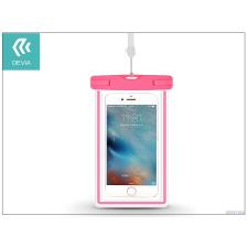 Devia Univerzális vízálló védőtok max. 5,5&quot, méretű készülékekhez - Devia Ranger Fluorescence Waterproof Bag - pink tok és táska