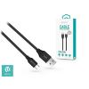 Devia USB - USB Type-C adat- és töltőkábel 1 m-es vezetékkel - Devia Gracious USB Type-C Cable Fast Charge - 5V/2.4A - black