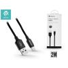 Devia USB - USB Type-C adat- és töltőkábel 2 m-es vezetékkel - Devia Pheez USB Type-C 2.0 Cable - black