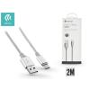 Devia USB - USB Type-C adat- és töltőkábel 2 m-es vezetékkel - Devia Pheez USB Type-C 2.0 Cable -silver