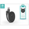 Devia USB - USB Type-C adat- és töltőkábel 80 cm-es vezetékkel - Devia Ring Y1 USB Type-C 2.4 Cable - black