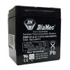 DIAMEC zselés akkumulátor 12V 4,2Ah DM12-4.2
