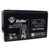 DIAMEC zselés akkumulátor 12V 7,2Ah DM12-7.2