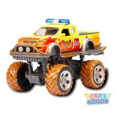 Dickie : Rally Monster kisautó - 15 cm, többféle autópálya és játékautó