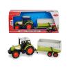 Dickie Toys Claas Dickie traktor a 3736004 utánfutóval