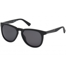Diesel DL0263 01A 54 Shiny Black /Smoke