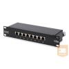 Digitus 10'' CAT5e 08-portos FTP patch panel
