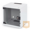 "Digitus 10"" 6U Mini fali rack szekrény 312x300mm"